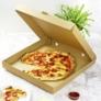 Kép 1/2 - Pizza doboz, 42,5*42,5 cm, lebomló , 50db